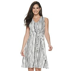 dc72eb709ba48c Women's Apt. 9® Knot-Front Dress