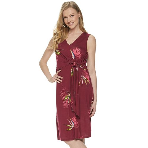 Women's Apt. 9® Knot-Front Dress