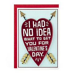 Hallmark Shoebox Funny Valentine's Day Card for Significant Other (Heart & Arrows)