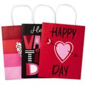 Hallmark Medium Paper Gift Bags Assortment (Valentines Hearts)