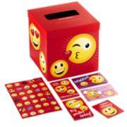 Hallmark Kids Valentine Cards & Mailbox for Classroom Exchange - Emoticons