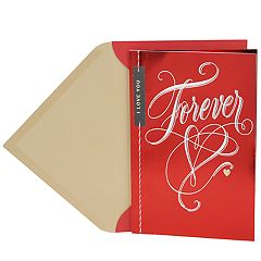 Hallmark Valentine's Day Card for Significant Other (Forever Lettering)