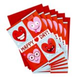 Hallmark Pack of Valentine's Day Cards with Stickers for Kids 6-Pack