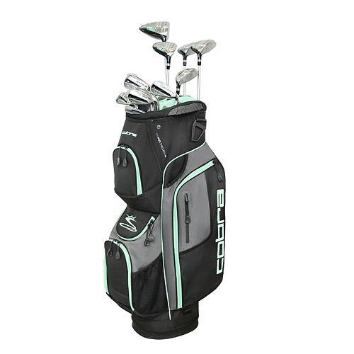 Cobra Golf XL Speed Women's 13 Piece Black-Mint Complete Set