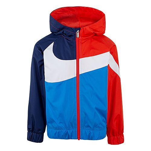 00c51461e123 Boys 4-7 Nike Colorblock Windrunner Zip Lightweight Jacket