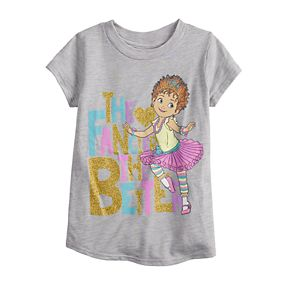 "Disney's Fancy Nancy Toddler Girl ""The Fancier The Better"" Glittery Graphic Tee by Jumping Beans®"