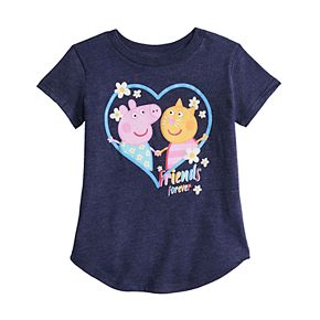 Toddler Girl Jumping Beans® Peppa Pig & Candy Cat Graphic Tee