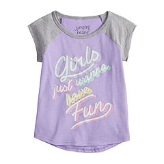 Toddler Girl Jumping Beans® 'Girls Just Wanna Have Fun' Graphic Tee