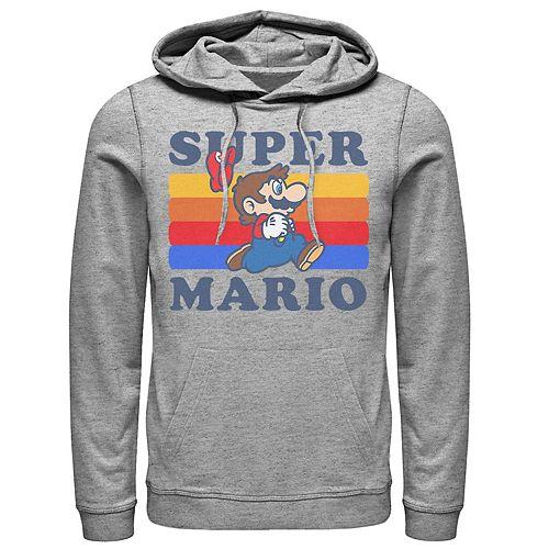 Men's Nintendo Retro Logo Pullover Hoodie