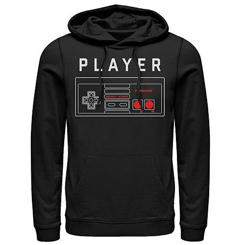 Men's Nintendo Player Pullover Hoodie