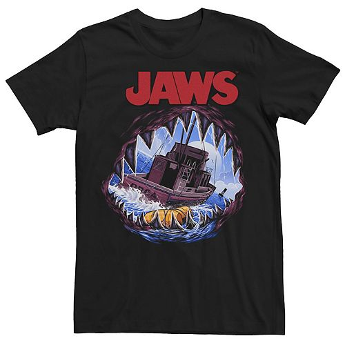 Men's Jaws Open-Mouth Tee