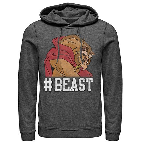 Men's Disney Beauty & The Beast Pullover Hoodie