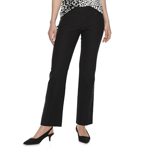 Petite Apt. 9® Pull-On Bootcut Pants