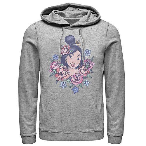Men's Disney Mulan Floral Pullover Hoodie