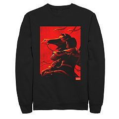 Men's Disney Mulan Poster Sweatshirt