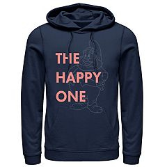 Men's Disney Snow White Happy Pullover Hoodie
