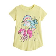 ab337553d7eb Toddler Girl Jumping Beans® My Little Pony Pinkie Pie   Rainbow Dash  Graphic Tee