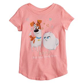 Toddler Girl Jumping Beans® The Secret Life of Pets Max & Gidget Graphic Tee