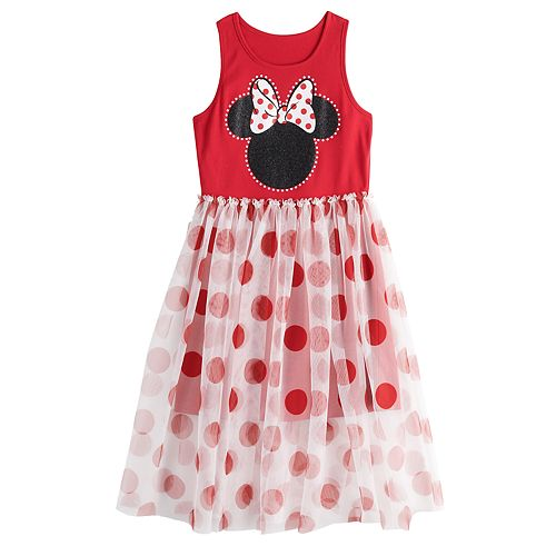 Girls 7-16 Graphic Fit & Flare Dress