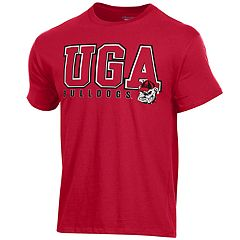 Men's Champion Georgia Bulldogs Letters Tee