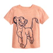 Disney's The Lion King Toddler Boy Simba Heathered Graphic Tee by Jumping Beans®