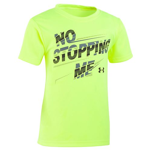 "Boys 4-7 Under Armour ""No Stopping Me"" Graphic Tee"