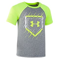Boys 4-7 Under Armour Slashed Baseball Base Raglan Graphic Tee