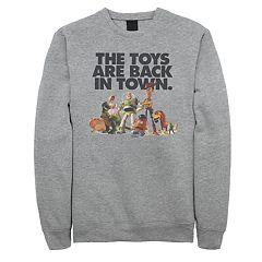 Men's Disney / Pixar Toy Story Back In Town Sweatshirt