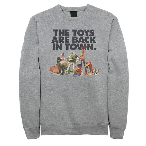 Men's Disney / Pixar Toy Story Back In Town Sweatshirt