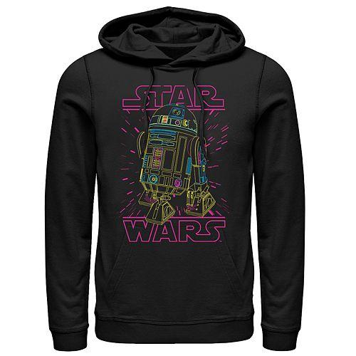 Men's Star Wars R2D2 Pullover Hoodie