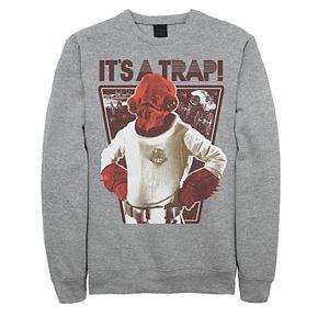 """Men's Star Wars """"It's a Trap"""" Sweatshirt"""