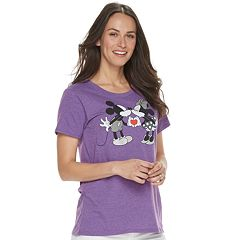 Disney's Mickey & Minnie Mouse Women's Family Fun Graphic Tee