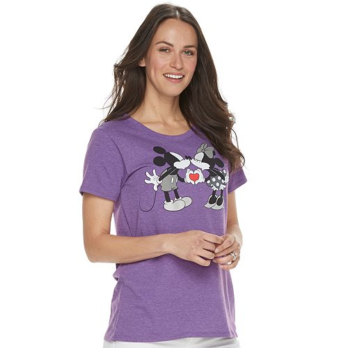 Disney's Mickey & Minnie Mouse Women's Family Fun™ Graphic Tee