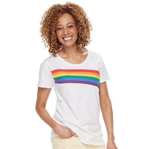 Women's Family Fun™ Rainbow Pride Graphic Tee