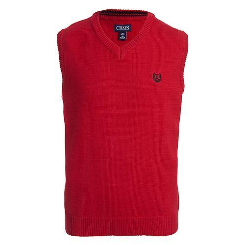Boys 4-20 Chaps Fairisle Sweater Vest