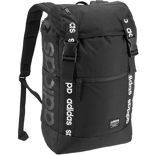 Crítico hormigón Aislar  adidas midvale plus backpack - black