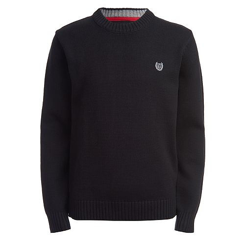 Boys 4-20 Chaps Solid Sweater