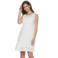 064cac3f1574 Petite Apt. 9® Medallion Lace Fit & Flare Dress