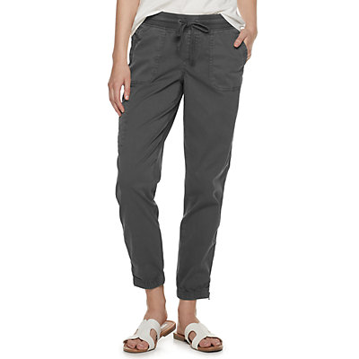 Petite SONOMA Goods for Life Convertible Joggers