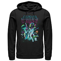 Men's Star Wars Neon New Hope Pullover Hoodie