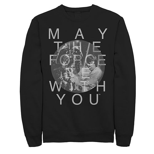 """Men's Star Wars """"May The Force Be With You"""" Sweatshirt"""