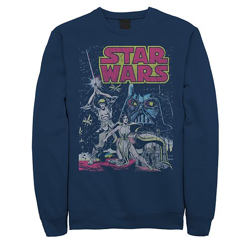 Men's Star Wars Classic Poster Sweatshirt