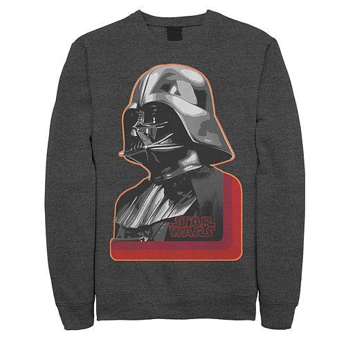 Men's Star Wars Vader Profile Sweatshirt