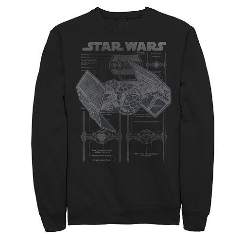 Men's Star Wars Tie Fighter Sweatshirt