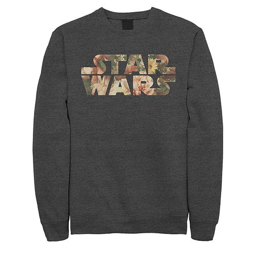 Men's Star Wars Floral Logo Sweatshirt