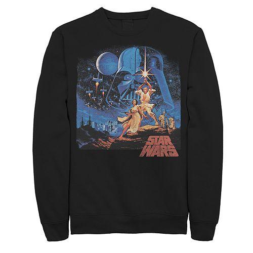 Men's Star Wars Classic Poster Sweatshirt