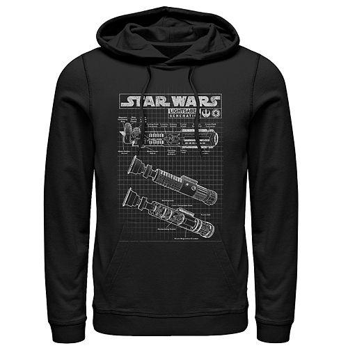 Men's Star Wars Light Saber Pullover Hoodie