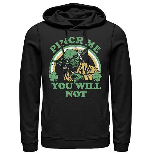 Men's Star Wars Yoda Pinch Pullover Hoodie