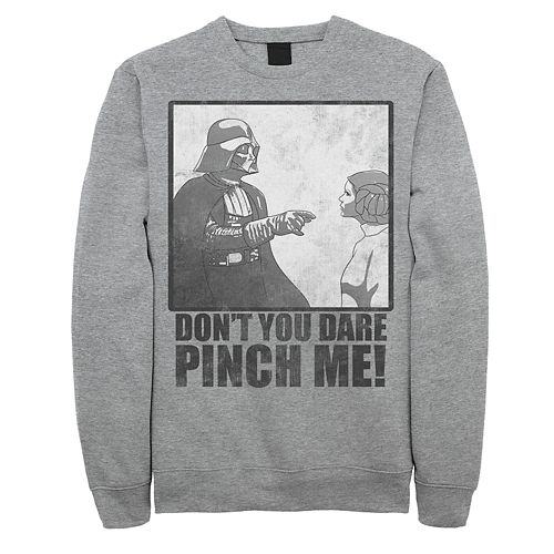 Men's Star Wars Vader Pinch Me Sweatshirt