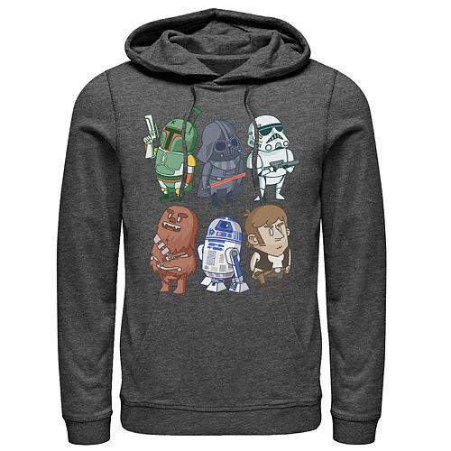 Men's Star Wars Characters Pullover Hoodie